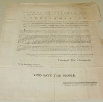 Image of Thomas Chittenden Thanksgiving Proclamation  - Chittenden, Thomas
