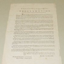 Image of Isaac Tichenor Day of Fasting and Prayer Proclamation - Tichenor, Isaac