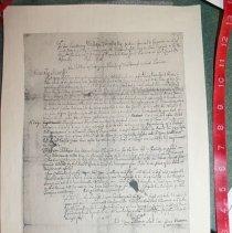 Image of Benjamin Taintor Petition (copy) - Taintor, Benjamin