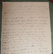 Image of Susan B. Anthony Letter (copy) - Anthony, Susan B.