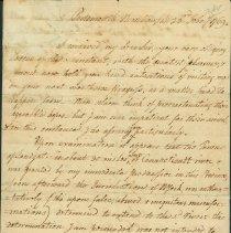 Image of Wentworth, Benning - Correspondence - Wentworth, Benning