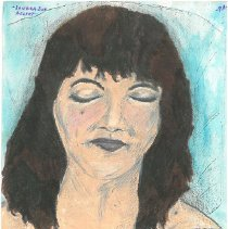 Image of Drawing - Sandra Sue Asleep