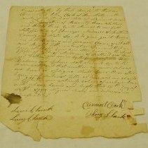 Image of Clark Receipt 1799 - Clark, Clement