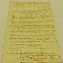 Image of Jehiel Andrews Deed to Munson Cook - Cook, Munson