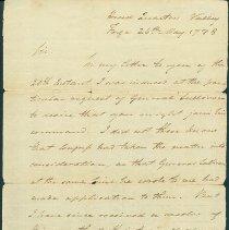Image of George Washington to John Stark - Washington, George