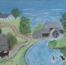Image of Painting - Grist Mill