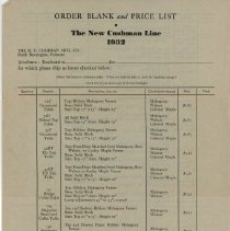 Image of H.T. Cushman Manufacturing Company Price List, 1932 - H.T. Cushman Manufacturing Company