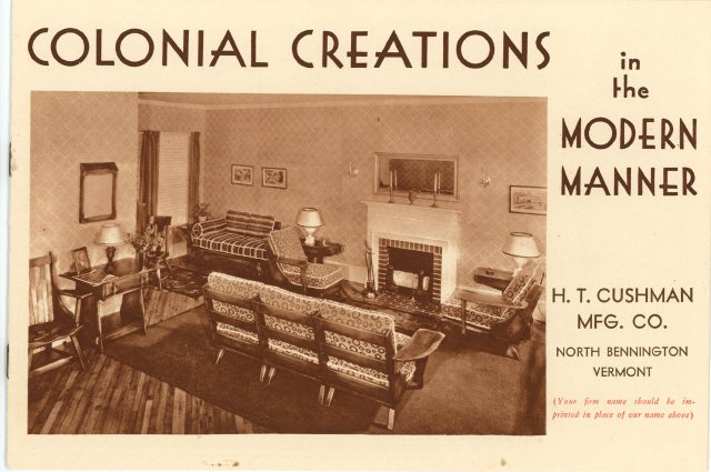 Catalog Circa 1940: Cushman Colonial Creations