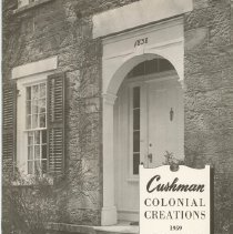 Image of H.T. Cushman Manufacturing Company Catalog Supplement, Fall 1959 - H.T. Cushman Manufacturing Company
