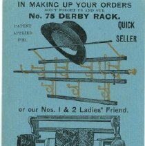 Image of H.T. Cushman Manufacturing Company Advertising Card - H.T. Cushman Manufacturing Company