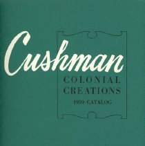 Image of H.T. Cushman Manufacturing Company Catalog/Brochure, 1959 - H.T. Cushman Manufacturing Company
