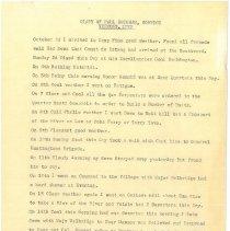Image of Paul Brigham Diary Transcript - Brigham, Paul