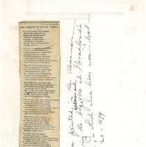 Image of Bradford Mill Poem - Bennington Banner