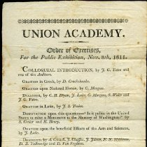 Image of Education: Bennington: Early School Records - Clio Hall (Bennington, Vt.)