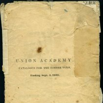 Image of Union Academy Catalogs - Union Academy