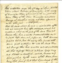 Image of Moses Robinson Deeds/Leases - Robinson, Moses, Jr. (1763-1825)