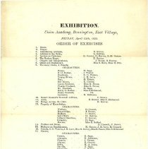 Image of Union Academy Exhibition 1822 - Union Academy