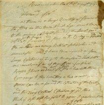 Image of Saratoga Campaign Letters - Stark, John