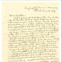 Image of F. Robertson Letters - Robertson, Fred