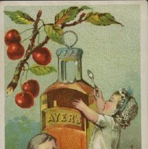 Image of Ayer's Cherry Pectoral Advert - Dr. J.C. Ayer & Co.