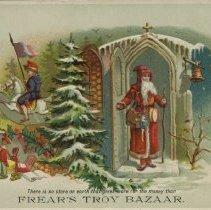 Image of William H. Frear Troy Bazaar Advert - Frear, William H.