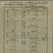 Image of Order form Norton & Fenton Pottery 1846 - Norton & Fenton