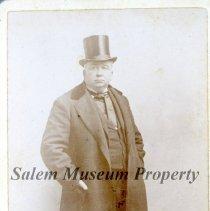 Image of Gentleman in Top Hat and Overcoat