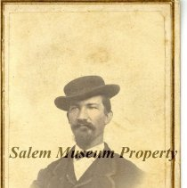 Image of Jr. I. Fudge -Young Man with Mustache and Beard - Photo Book