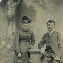 Image of Young couple  - unidentified - Photograph