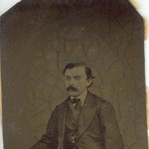 Image of Middle aged Man with dark hair and mustache - Photo Book