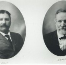 Image of Mr. Bell and Mr. Lewis (Duplicate to 2018.200.003