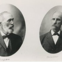 Image of Mr. Logan on left and Mr. Thrasher on right