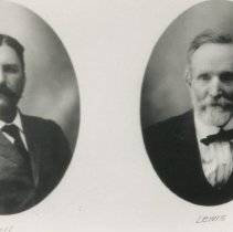 Image of Mr Ball on left and Mr. Lewis on right