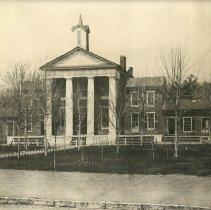 Image of Photo of original Roanoke County Courthouse - Photograph