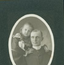 Image of Andrew S. Arbury and daughter Rea Arbury