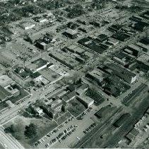 Image of Street Scenes - Midland, Main Street, Aerial View