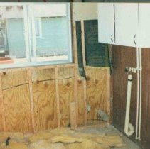 Image of Disasters - 1986 Flood--Flood Damage--1201 Pine River Road
