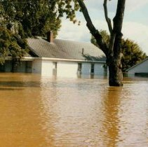 Image of Disasters - 1986 Flood--Frank Olds House