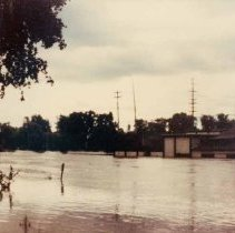Image of Disasters - 1986 Flood--Brown Lumber Co.