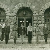Image of Boy Scouts - Boy Scout troop 4 of Midland, Michigan.
