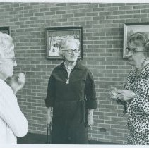 Image of People - Kathryn Cummins and Martha Arnold in 1977.