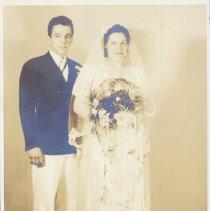 "Image of Dorothy Dunham and Richard Marsh - Wedding photo for Richard ""Jack"" Marsh and Dorothy Dunham"