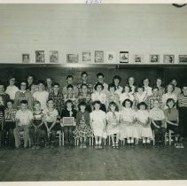 Image of Barrett School - Barrett School Class 1951