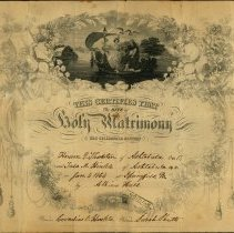 Image of Marriage Certificate: Thornton