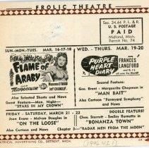 Image of Midland Theater Handbill