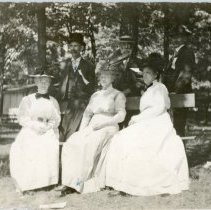 Image of Mr. and Mrs. White and Friends
