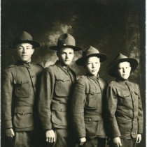 Image of Groups Identified - McKay Postcard-Front Image