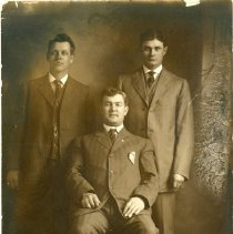 Image of Three Unknown men