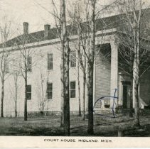 Image of Midland County Court House, 1858-1926