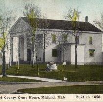 Image of Midland County Courthouse, 1858-1926